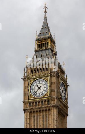 L'Elizabeth Tower, Big Ben, London, Royaume-Uni Banque D'Images
