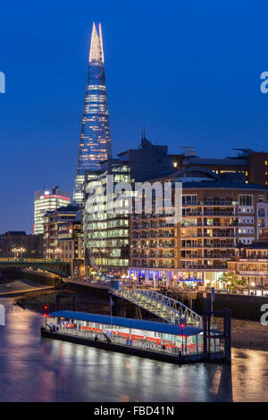 Le Shard, London, Royaume-Uni Banque D'Images