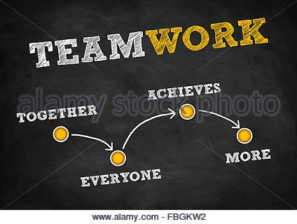Stratégie d'équipe - concept Banque D'Images