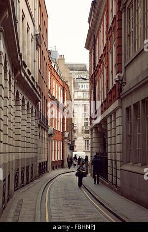 Londres, architecture, ville, rue, façade Banque D'Images