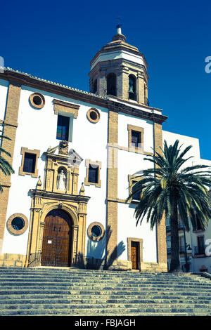 Ronda, Espagne à La Merced couvent de carmélites. Banque D'Images