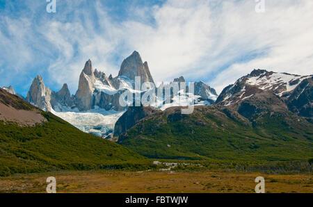 La montagne Fitz Roy et Laguna de los Tres, Patagonie, Argentine