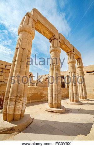 Temple de Karnak. Louxor, Egypte Banque D'Images