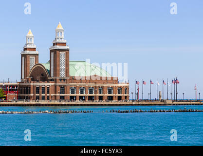 Le Navy Pier Auditorium Banque D'Images