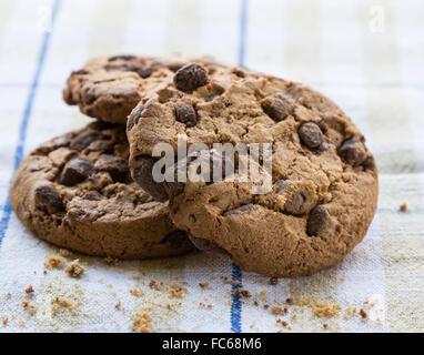 Biscuit au chocolat Banque D'Images