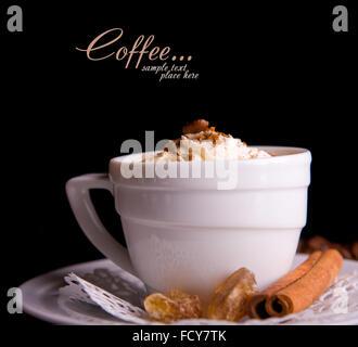la poudre de caf grain de caf un caf original banque d 39 images photo stock 94027165 alamy. Black Bedroom Furniture Sets. Home Design Ideas