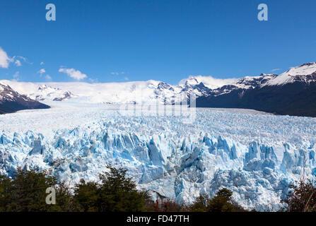 Le Parc National Los Glaciares, Argentine Banque D'Images
