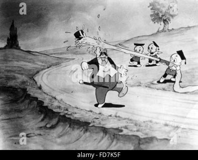 Nouvelle donne: Cartoon, 1936 Banque D'Images