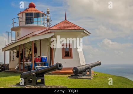 Phare de Fort King George Tobago Antilles Banque D'Images