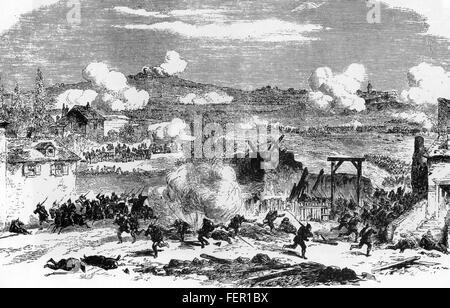 La guerre franco prussienne de 1870-1871 les combats à Villejuif dans le cadre de la défense de Paris
