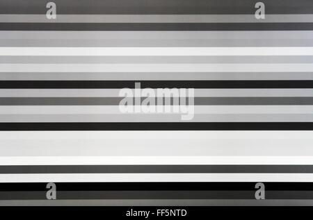 Télévision noir et blanc Lignes d'écran du bruit statique, toile de fond abstrait Banque D'Images