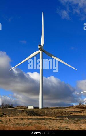 Hazlehead Wind Farm, Penistone près de Barnsley, South Yorkshire, Angleterre, Royaume-Uni.