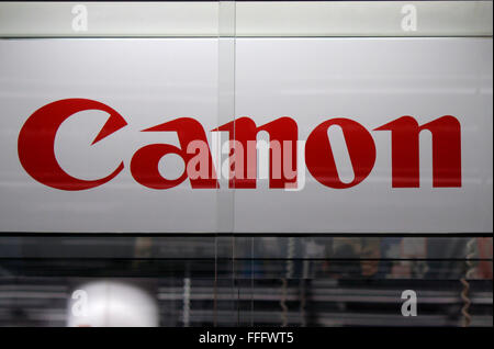 Markenname : 'Canon', Dezember 2013, Berlin. Banque D'Images