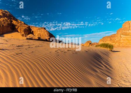 Paysage du désert du Sinaï Banque D'Images