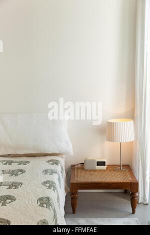 L'architecture, chambre confortable d'une maison moderne Banque D'Images
