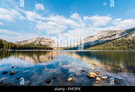 Lac Tenaya, Yosemite National Park, California, USA, Amérique du Nord Banque D'Images