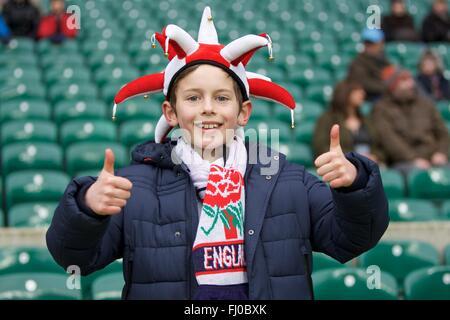 Twickenham, London, UK. Feb 27, 2016. RBS Six Nations championnats. L'Angleterre contre l'Irlande. Credit: Action Plus Sport/Alamy Live News
