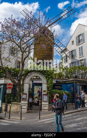 Paris France le 21 avril 2014, les bâtiments historiques et les routes autour de Paris Banque D'Images