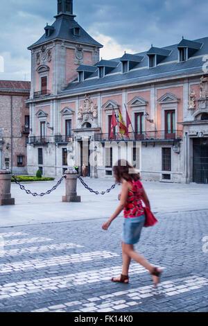 La Plaza de la Villa. Madrid, Espagne Banque D'Images