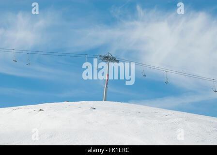 Les charrettes du Liban Faraya Banque D'Images