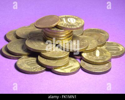 Une tour de la monnaie Banque D'Images