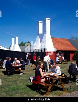 Smoke house museum de Hasle, île de Bornholm, Danemark, Scandinavie, Europe Banque D'Images