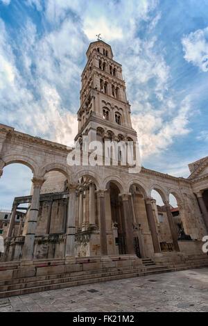 La Cathédrale Saint-domnius à Split, Croatie Banque D'Images