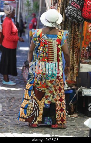 Marché au Cap Vert Banque D'Images