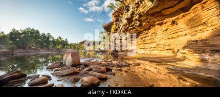 La Murchison River gorge à Ross Graham, le Parc National de Kalbarri, Australie occidentale Banque D'Images