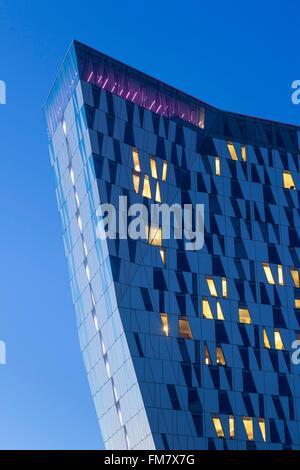 Le Danemark, la Nouvelle-Zélande, Copenhague, Bella Sky Hotel Tours, crépuscule