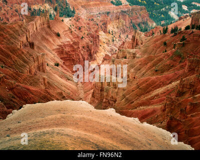 Canyon Lands dans Cedar Breaks National Monument (Utah) Banque D'Images