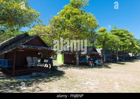 Varin Village bungalows pour les routards sur Sunrise Beach, Ko Lipe, Thaïlande