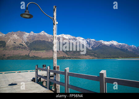 Jetée sur le Lac Wakatipu à Glenorchy