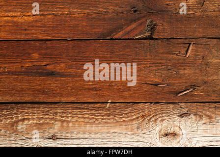 La texture du bois ancien, bien blanchis, contexte Banque D'Images