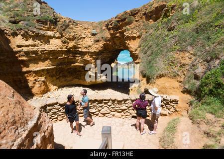 La grotte, Great Ocean Road, Victoria, Victoria, Australie Banque D'Images
