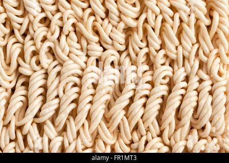 Nouilles ramen sèche instantanée adaptés pour une utilisation comme un arrière-plan Banque D'Images