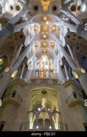 La Sagrada Familia, Barcelona Espagne Espana Banque D'Images