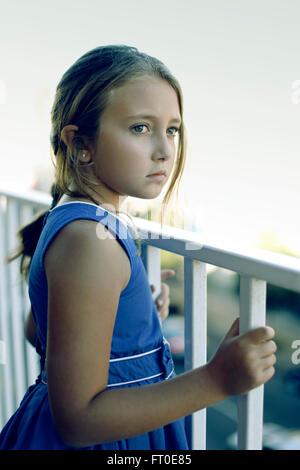Portrait de jeune fille Banque D'Images