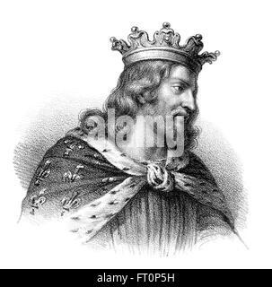 François I, ou Cherebert, ch. 517-567, roi des Francs, le roi mérovingien de Paris, François I., um 520-567, König der