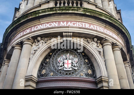 Ville de London Magistrates' Court, London, UK Banque D'Images