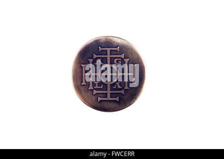 AGLA est un nom magique de Dieu Banque D'Images