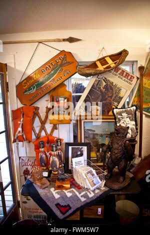 Country store dans le Northwoods dans la région de Land O'Lakes, Wisconsin