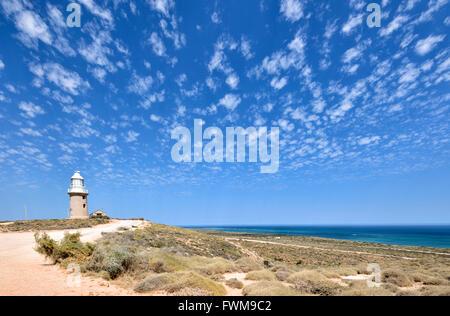 Vlaming Head Lighthouse, Exmouth, dans l'ouest de l'Australie, WA, Australie Banque D'Images