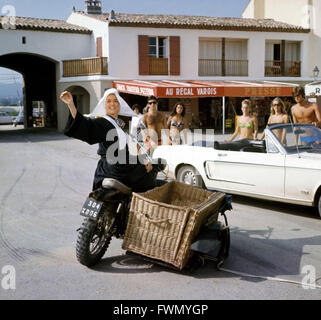Le gendarme se marie Année:1968 Réalisateur: Jean Girault Louis de Funes COLLECTION CHRISTOPHEL Banque D'Images