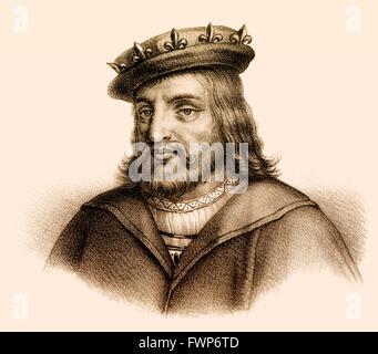 Childéric I, ou Childericus Childerich; c. 440-481/482, un roi mérovingien des Francs saliens
