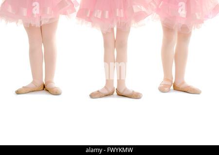 2c3699f58 Danseurs de Ballet de pieds en première position Banque D'Images ...