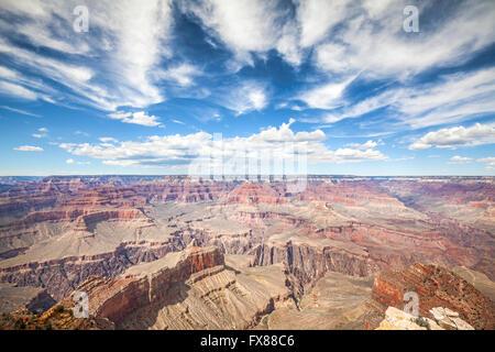 Rive Sud du Grand Canyon National Park, l'une des meilleures destinations touristiques aux Etats-Unis. Banque D'Images