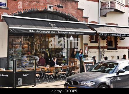 Le Pain Quotidien ( Boulangerie & Table commune ) Cornelis Schuytstraat Néerlandais Pays-Bas Amsterdam Oud Zuid