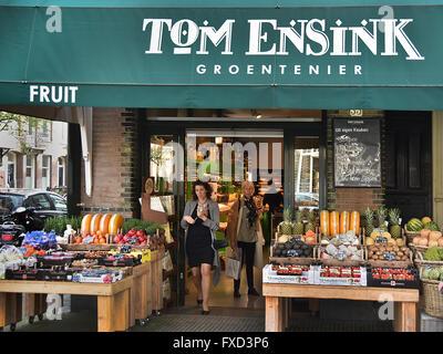 Jardiniers Tom Ensink ( groetenier ) Cornelis Schuytstraat Oud Zuid Amsterdam Pays-Bas Néerlandais