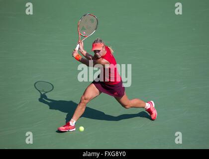 Angelique Kerber, GER, l'US Open 2015, tournoi du Grand Chelem de tennis, de Flushing Meadows, New York, USA Banque D'Images